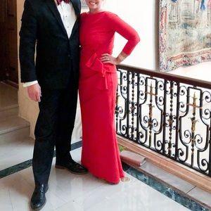 9d0f45d564930 Chiara Boni Dresses - Chiara Boni La Petite Robe Zelma Side Gown Size 14